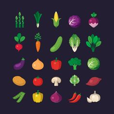 More than a million free vectors, PSD, photos and free icons. Exclusive freebies and all graphic resources that you need for your projects Flat Design Icons, Icon Design, Vector Clipart, Vector Free, Logo Fruit, Photos Hd, Free Photos, Food Icons, Fruit Icons