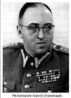 Pułkownik Aleksander Warecki, szef Wojskowego Sądu Rejonowego w Warszawie, zmarły w 1986 roku. 5 października 1950 roku rozpoczęła się rozprawa przed Sądem Rejonowym w Warszawie. Składowi sędziowskiemu przewodniczył płk Aleksander Warecki.
