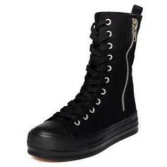 High-Top Side-Zip Platform Sneakers from #YesStyle <3 yeswalker YesStyle.com