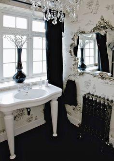 powder #bathroom design #bathroom decorating before and after| http://bathroomdesign436.blogspot.com