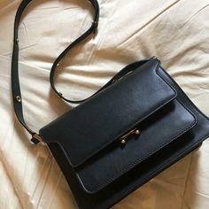 Marni Trunk Bag Black Shoulder home storage Pocket Cards, Duffel Bag, Marni, Trunks, Coin Purse, Shoulder Bag, Purses, Wallet, Best Deals