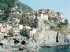 Italy, Liguria by Leila Peterson Riomaggiore at simplebeyond.com