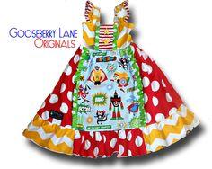 Priscilla Power Super Hero Dress