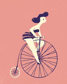 Illustration Friday theme: wheel (by Carolina Buzio)
