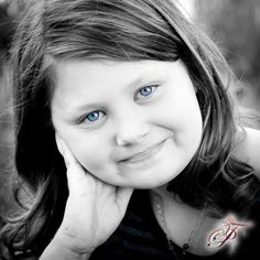 My big girl...I was surprised to see her on Pinterest.  She is my blue eyed baby@