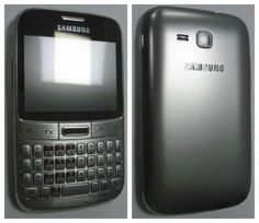 Samsung Galaxy M Pro With QWERTY Keyboard a la BlackBerry
