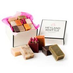 Coffret cadeau 10 savons naturels Heyland and Whittle   Idée Cadeau France