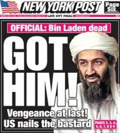The media and news scrambled last night to report on the death of wanted terrorist, Osama bin Laden. Description from moneybook2u.com. I searched for this on bing.com/images