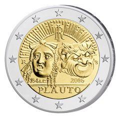 2 Euro moneta commemorativa 2016 - Tutti i paesi disponibili Piece Euro, Coin Collecting, Stamp, Personalized Items, Charcuterie, Paracord, Tips, Vintage, Italian Lira
