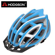 8016 HODGSON New EPS Road Bike Helmet with Removable Visor Cycling Helmet with Insect Proof Net Unisex Safety MTB Bicycle Helmet