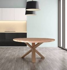 ROUND DINING TABLE TIMBER BASE   Dining Tables   Gumtree Australia Bayside Area - Sandringham   1105692658