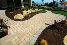 do it yourself landscaping ideas landscape ideas for slopes landscape patio ideas #Landscaping