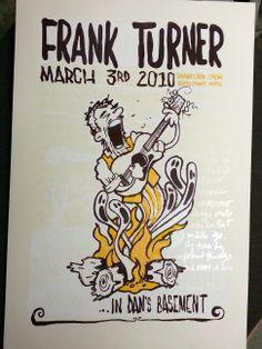 frank turner poster