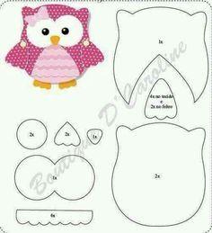 Little scrapbook owl pattern