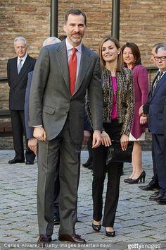 King Felipe and Queen Letizia visits Zaragoza