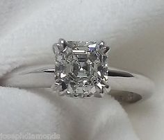 GIA-Certified-88-Asscher-Cut-Blue-Nile-Solitaire-Engagement-Ring-18k-white-gold