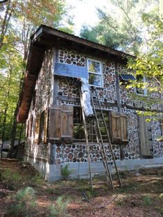 Cordwood Cabin (off grid) in the Adirondacks