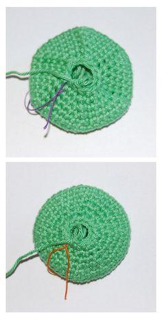 How to shape and decrease invisibly from Diana Buss at MyGurumi #crochet #amigurumi