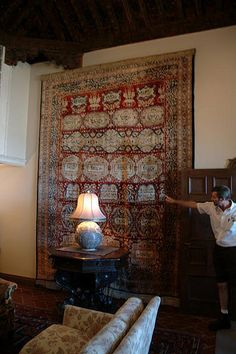 How to Hang a Wall Tapestry -- via wikiHow.com