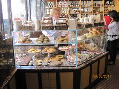 Bakery Shop at Betty's...love the open display