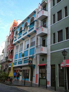 Los balcones de mi Viejo San Juan Puerto Rico 2014
