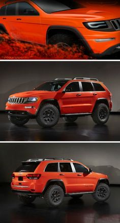 Following last year's launch of a large Cherokee Trailhawk concept car