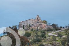 In the middle of the park is Virgen de la Cabeza Sanctuary