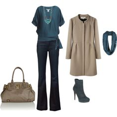 Teal is so my color this fall