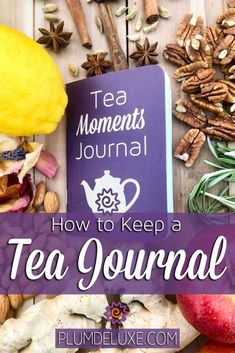 What's a tea flavor wheel? Learn more about how you can keep a tea journal and use it to document your tea-tasting journey! #looseleaftea #teatasting #teajournal Tea Gifts, Reading Nooks, Tea Accessories, Loose Leaf Tea, Planner Ideas, Tea Time, Tea Party, Plum, Healthy Living