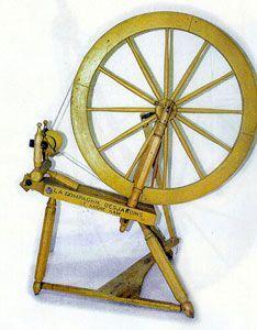 Desjardins spinning wheel