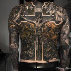 Fantastycznie odwzorowany motyw religijny. Autor: Niki Norberg | Dziary.com