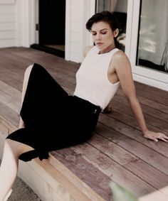 Lauren Cohan photographed by Toby Knott for So It Goes Magazine