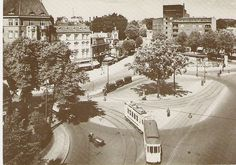 Winterhuder Marktplatz um 1928