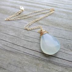 Ethereal Aqua Necklace