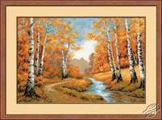 The Golden Grove - Cross Stitch Kits by RIOLIS - 1155