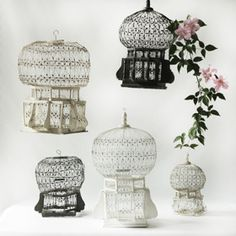 Antique Tunisian Bird Cages