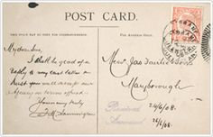 1875: The first Australian postcards went on sale at the Sydney GPO in New South Wales. Learn more about Australia Post's history here: http://auspo.st/1C0gYkJ