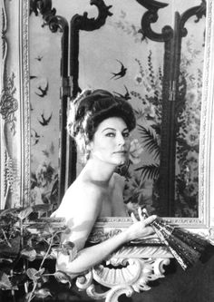 Ava Gardner photographed for 55 Days at Peking (1963)