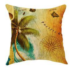 Islands of Aloha Pillow from Island Jive $55.00