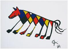 Alexander Calder, Beasties  http://www.williambennettgallery.com/artists/calder/pictures/large/CALD1016.jpg