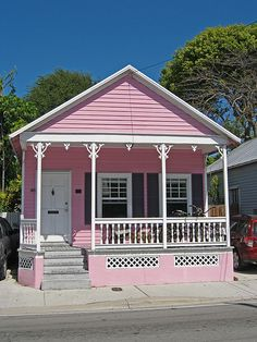 The Pink House - Key West, Florida