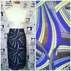 Por Dios mío del amor hermoso Carmen qué falda más bonita y más hermosa y qué tela mas original! #faldaentubada