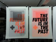 The Future Is In The Past by tind , via Behance