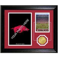 Arkansas Razorbacks Collegiate Fan Memories 10'' x 12'' Desktop Photomint Frame - $39.99