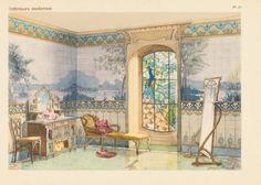 212 beste afbeeldingen van art nouveau interiors art nouveau