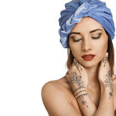 Nacht-Turban: Deshalb solltest du nachts einen Turban tragen