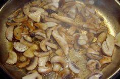 Eine Variante des klassischen Pilzrisottos, angereichert mit Entenlendchen und Lauchzwiebeln
