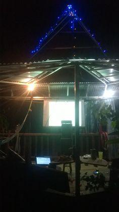 Casa del árbol y cine -  cinema tree house