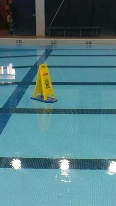 I guess someone didn't know the pool was wet!