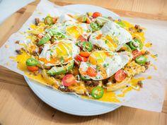 Breakfast Nachos recipe from Katie Lee via Food Network